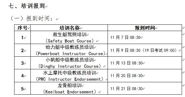 国家体育总局青岛航海运动学校 2016年11月外教培训招生简章 6894a237bbc709336cc928e4b113e2c8.png
