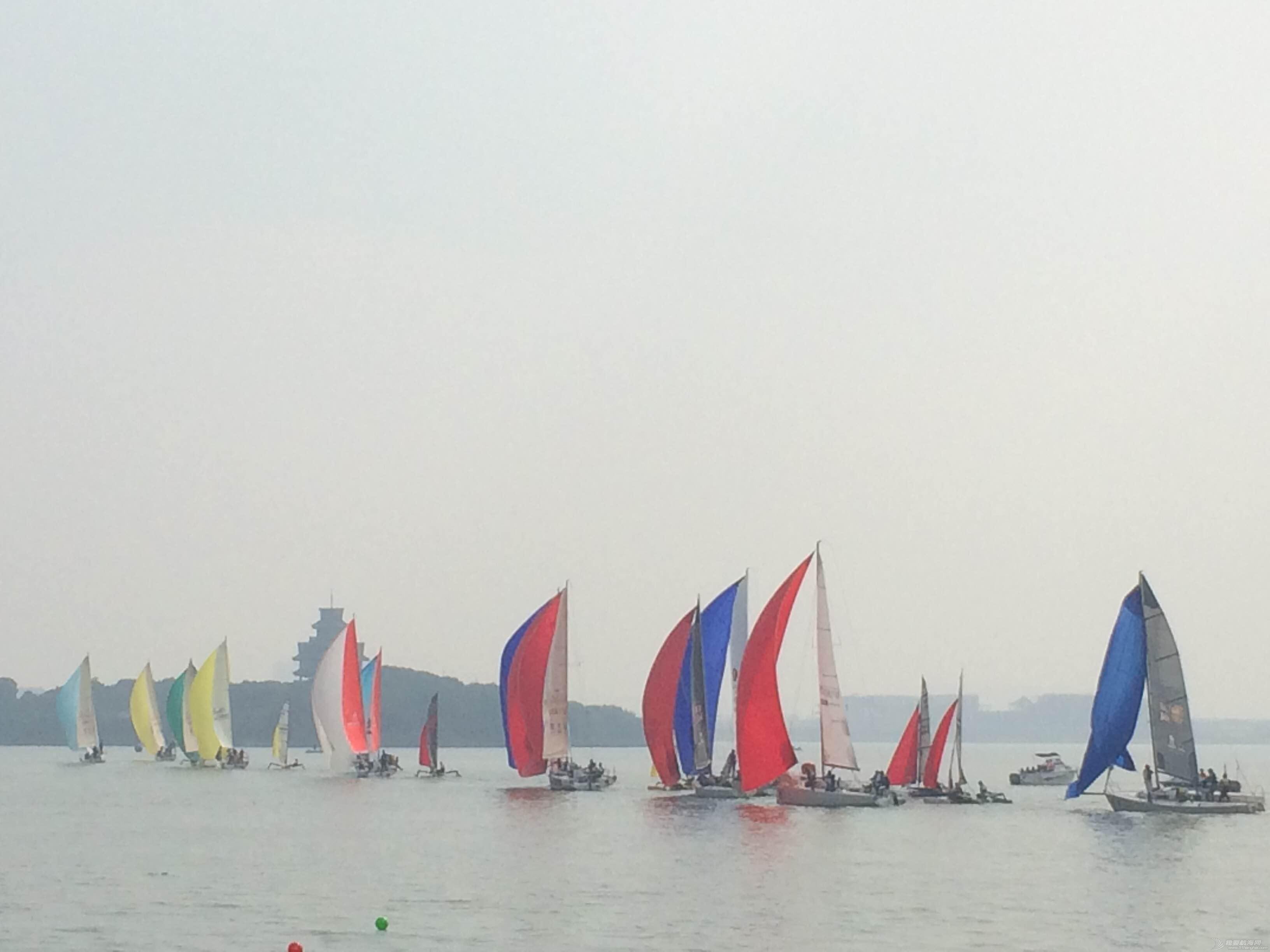 全新的世界,金鸡 风起湖上-城际内湖杯帆船赛 2016-10-16