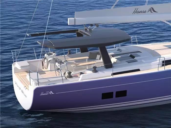 """碳纤维,日光浴,朋友,美食,潮流 """"打破常规,引领潮流""""德国汉斯帆船最新船型:Hanse 588 2e60ad02c5a6cdcb7e3268247d30cc82.jpg"""