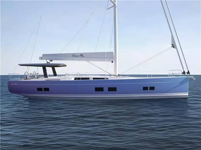 """碳纤维,日光浴,朋友,美食,潮流 """"打破常规,引领潮流""""德国汉斯帆船最新船型:Hanse 588 7a998e90c337c53dfaf427a4bebd0186.jpg"""