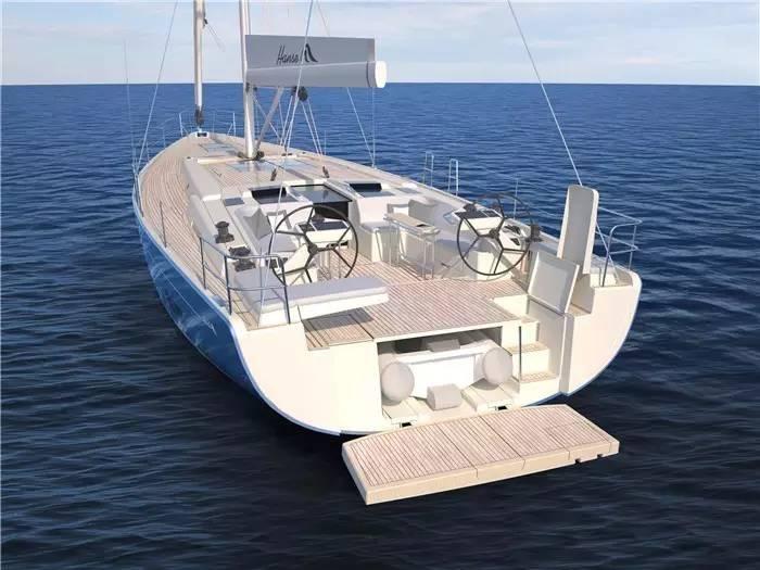 """碳纤维,日光浴,朋友,美食,潮流 """"打破常规,引领潮流""""德国汉斯帆船最新船型:Hanse 588 160c87e595a77e88967c1d642af99d35.jpg"""