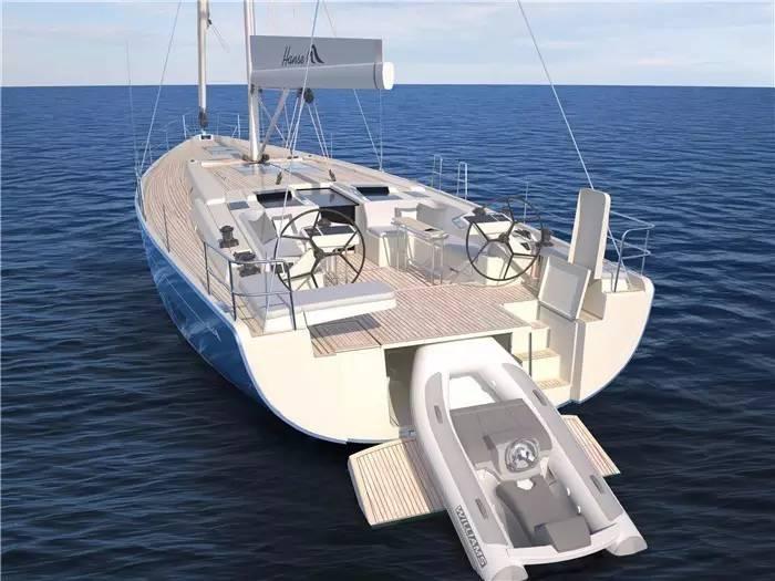 """碳纤维,日光浴,朋友,美食,潮流 """"打破常规,引领潮流""""德国汉斯帆船最新船型:Hanse 588 aa6a93df2caccf530916ecf9062511a3.jpg"""