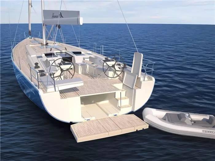 """碳纤维,日光浴,朋友,美食,潮流 """"打破常规,引领潮流""""德国汉斯帆船最新船型:Hanse 588 c8d442868bb90d29912021b49201e4e0.jpg"""