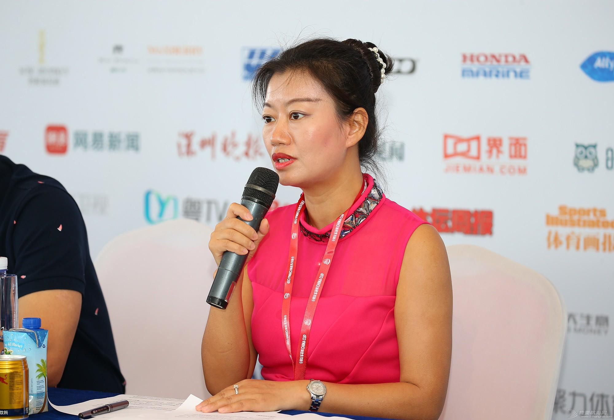 新闻发布会,中国 中国杯帆船赛新闻发布会现场,钟勇、苏科接受我要航海网采访 E78W2958.JPG