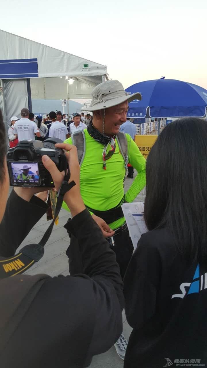 中国 2016中国杯帆船赛 到港船队船员