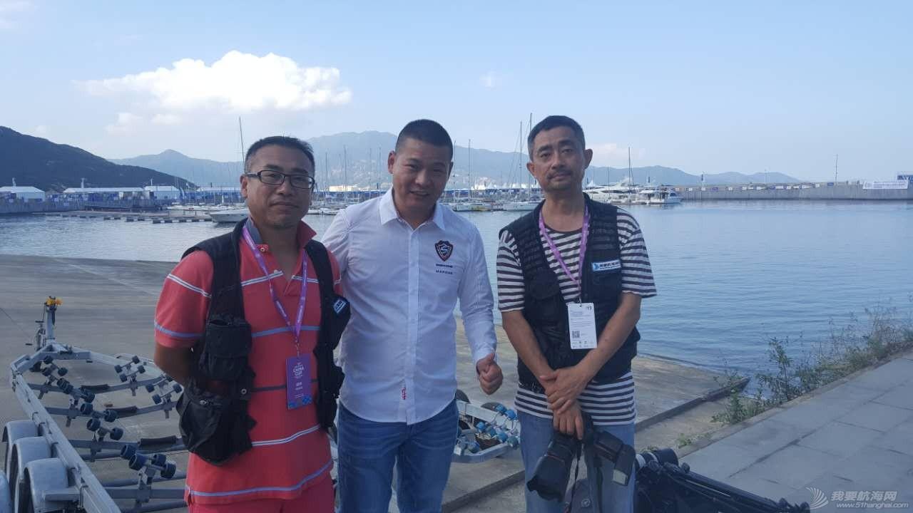 中国 2016中国杯帆船赛 51航海网张老师马老师