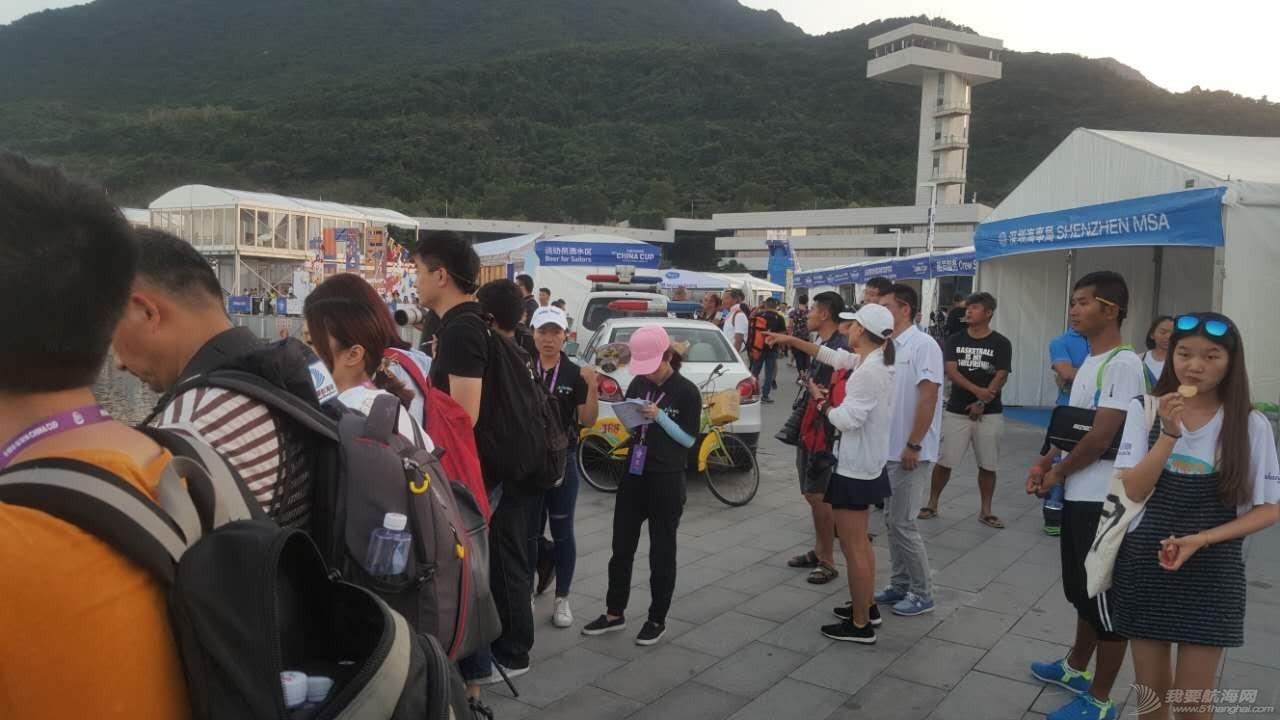 中国 2016中国杯帆船赛 等待各陆续到港船队