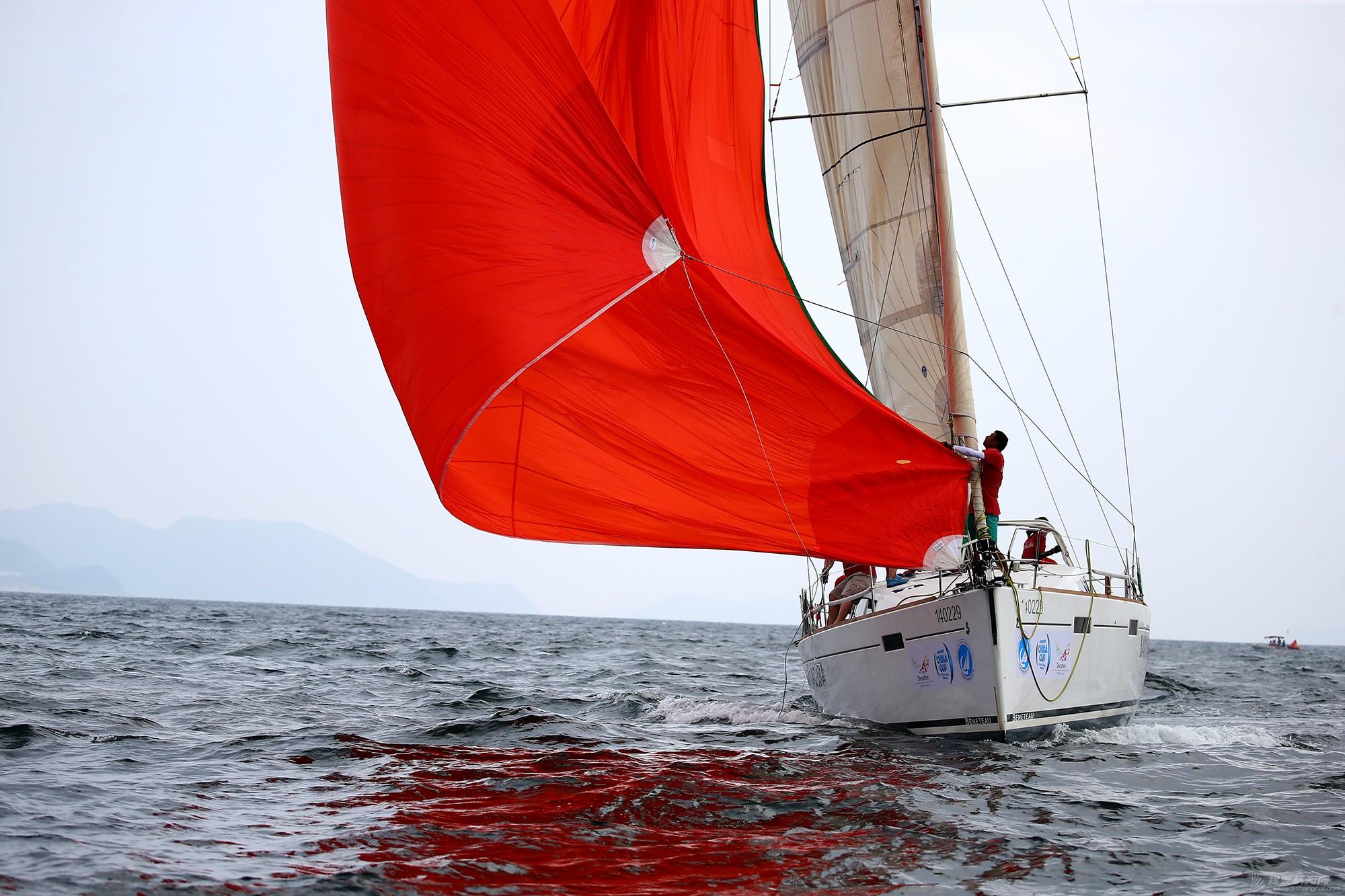 中国 中国杯帆船赛第三日——无风不起浪,雨中见刀枪 E78W6129.JPG