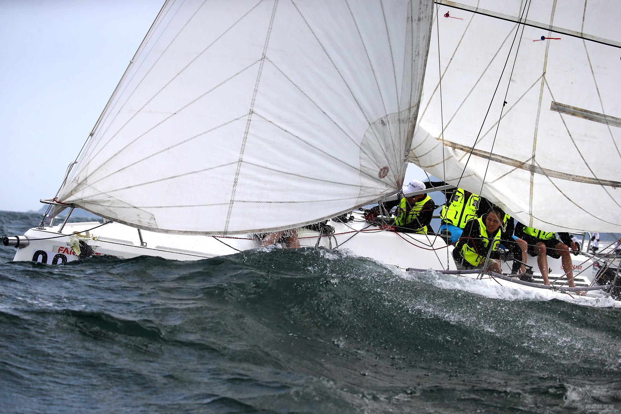中国 中国杯帆船赛第三日——无风不起浪,雨中见刀枪 E78W7207.JPG