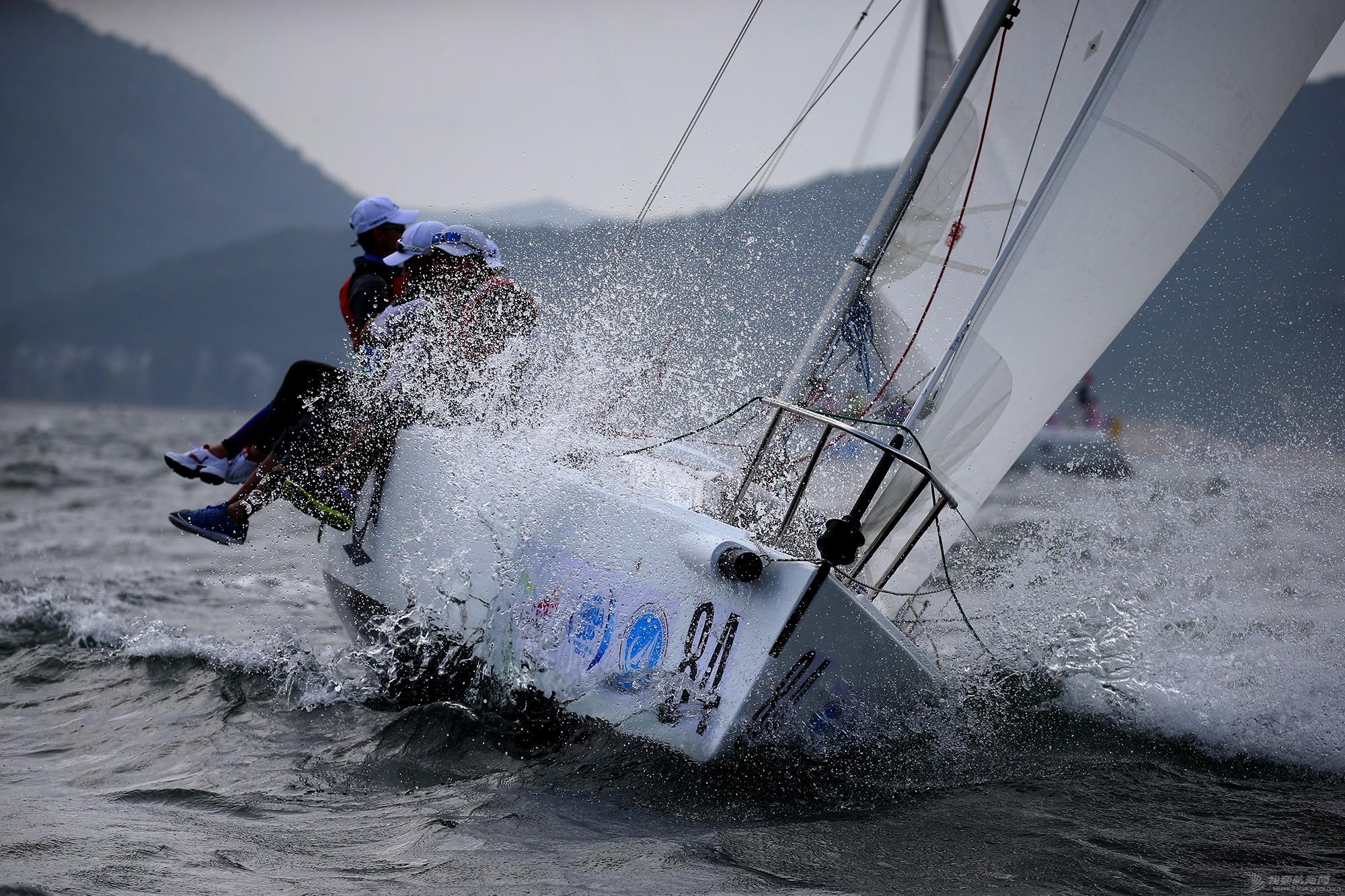 中国 中国杯帆船赛第三日——无风不起浪,雨中见刀枪 E78W7313.JPG