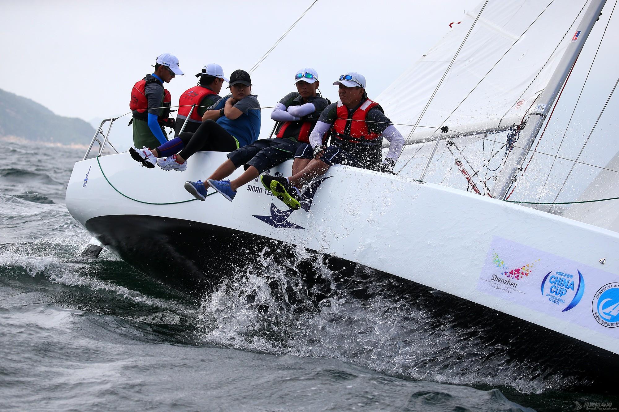 中国 中国杯帆船赛第三日——无风不起浪,雨中见刀枪 E78W7325.JPG