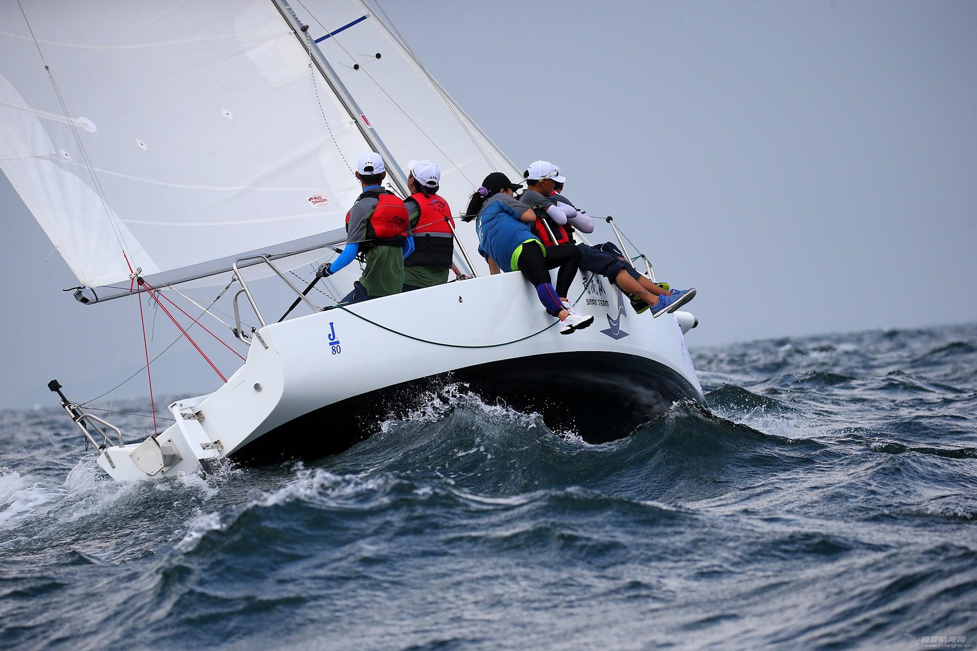 中国 中国杯帆船赛第三日——无风不起浪,雨中见刀枪 E78W7334.JPG