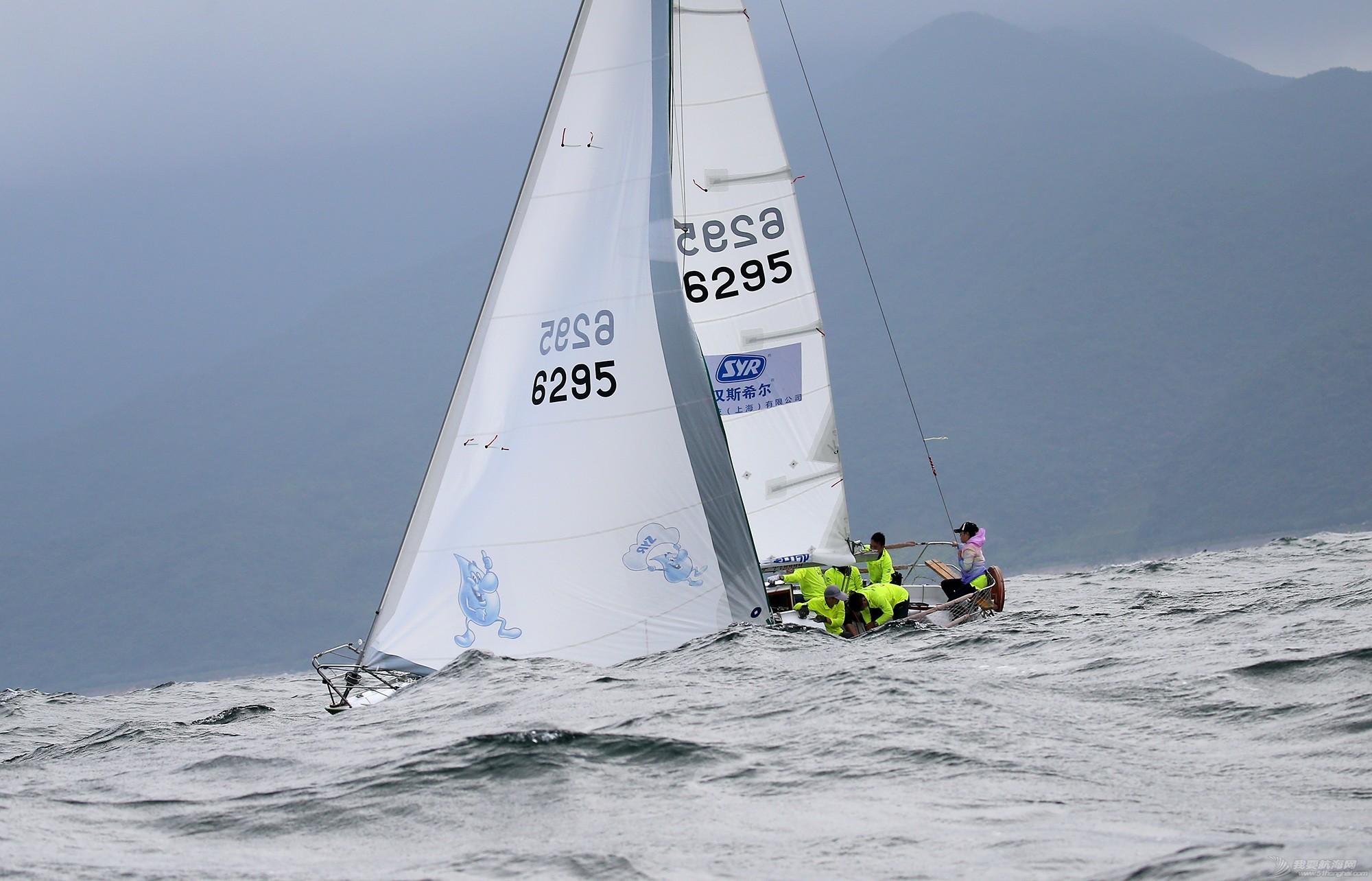 中国 中国杯帆船赛第三日——无风不起浪,雨中见刀枪 E78W7524.JPG