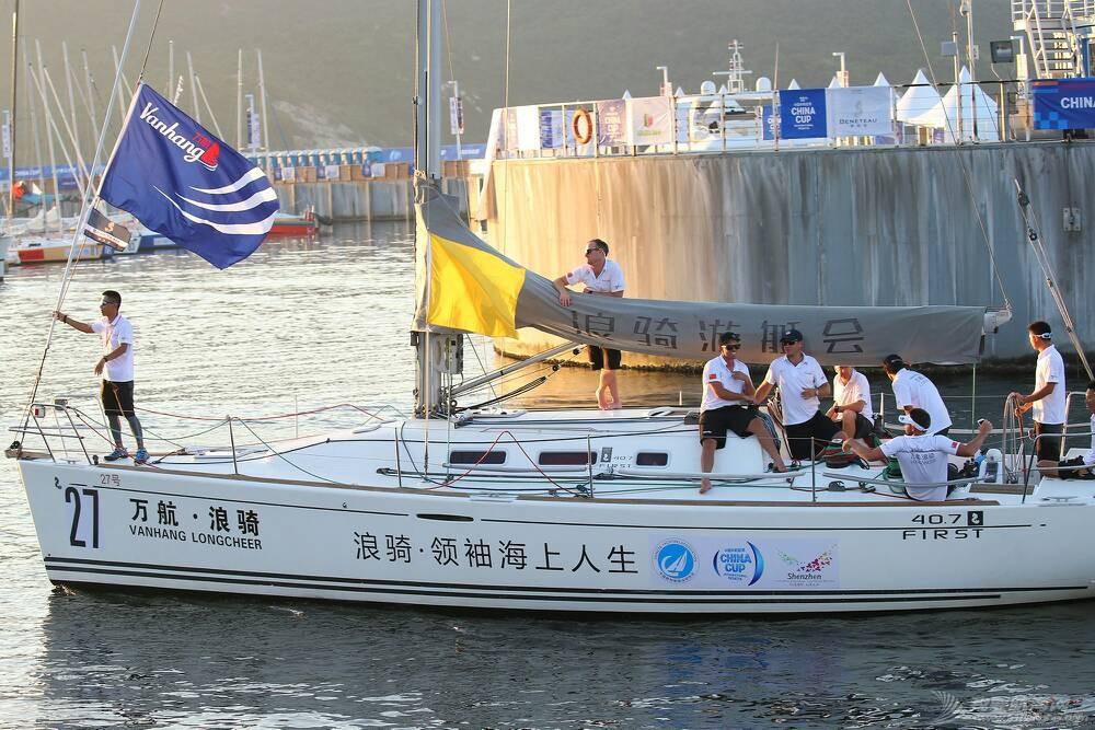 【快讯】万航浪骑队提前一轮拿下中国杯帆船赛冠军