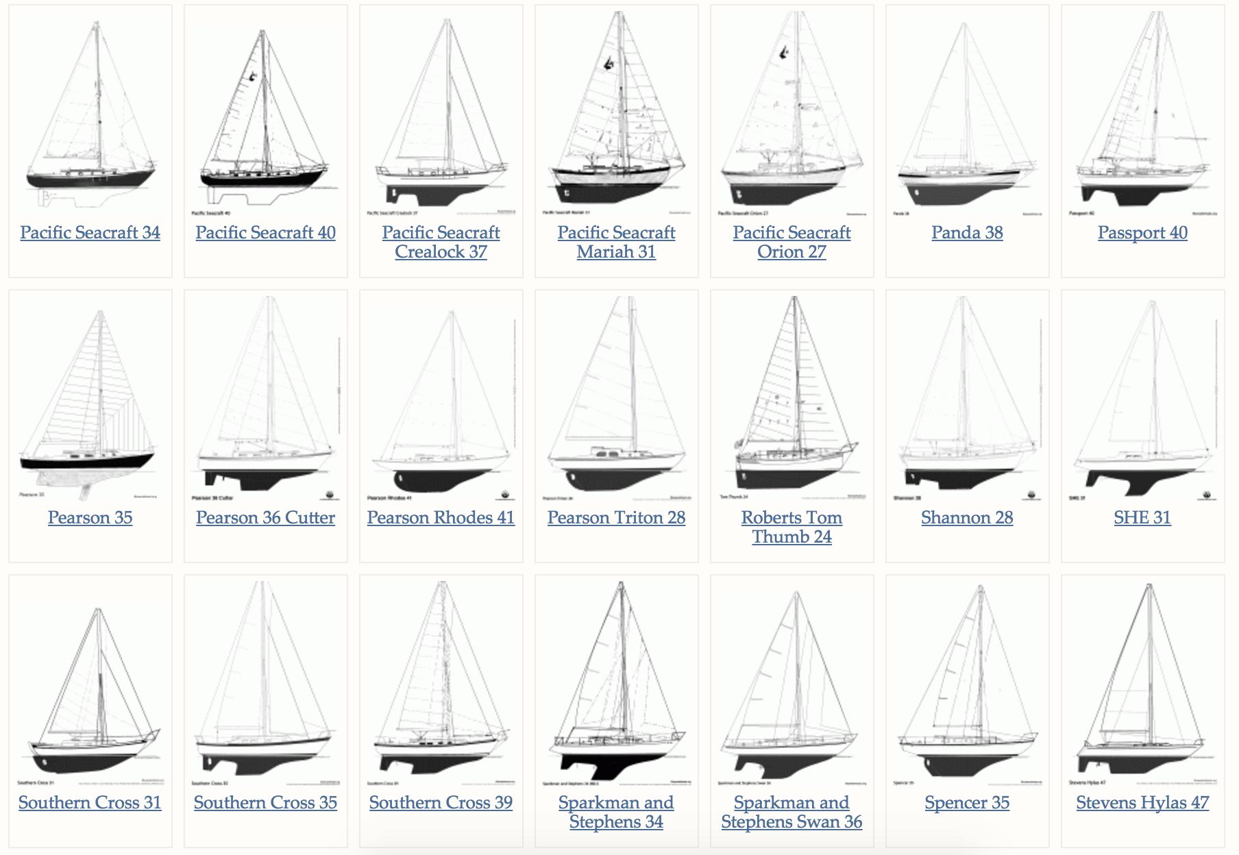 Website,帆船 发现了一个最新帆船设计图纸网站(Website)供大家浏览! 屏幕快照