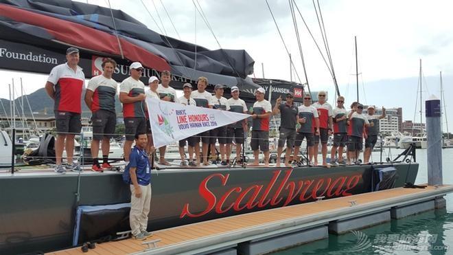 澳大利亚,沃尔沃,劳力士,海南岛,拉力赛 沃尔沃香港至海南岛帆船拉力赛创造新纪录 Alt_Scallywag