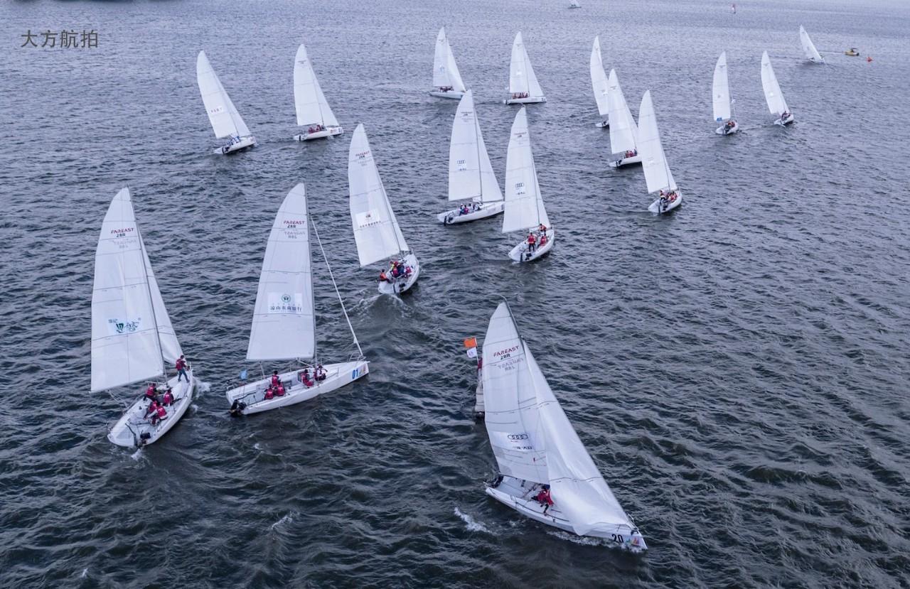 邛海帆船赛第三日:好风助力精彩纷呈 1783fe526ceab838b210b35413737d1a.jpg