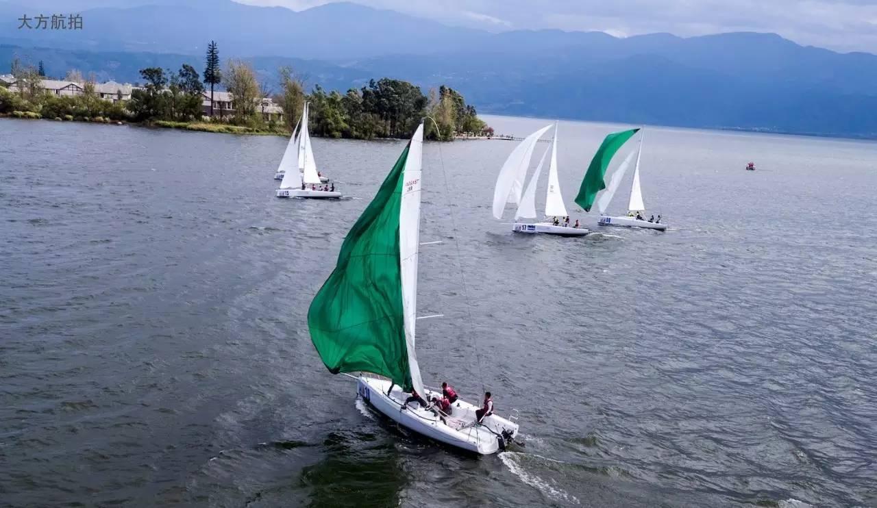 邛海帆船赛第三日:好风助力精彩纷呈 a7453ace10ba5cd90104f056a81ebd02.jpg