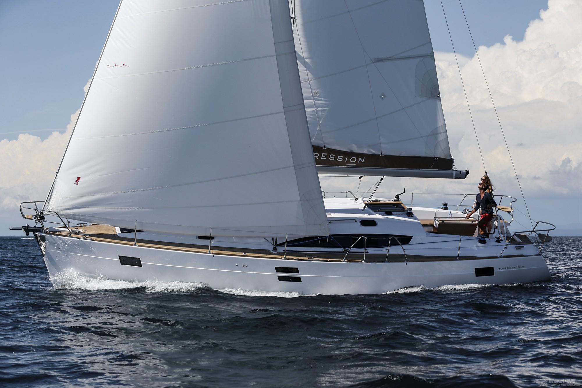 帆船,休闲,印象 elan IMPRESSION 45豪华休闲帆船 逸蓝45英尺巡航帆船 Elan帆船