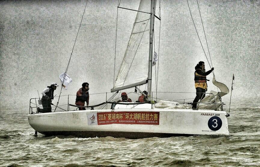 人生没有白走的路,每一步都算数------记环太湖帆船赛