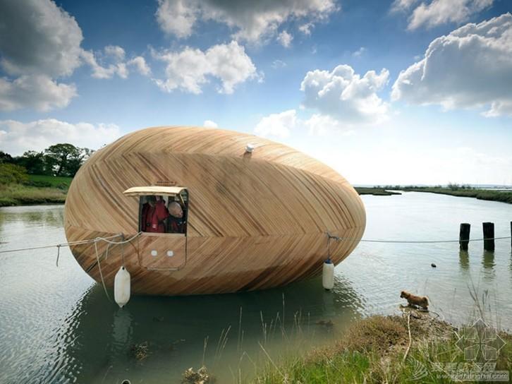 英国,建筑,笔记本电脑,设计原则,生活方式 英国蛋形建筑船【the exbury egg】 65856_0_0_760_w_0.jpg
