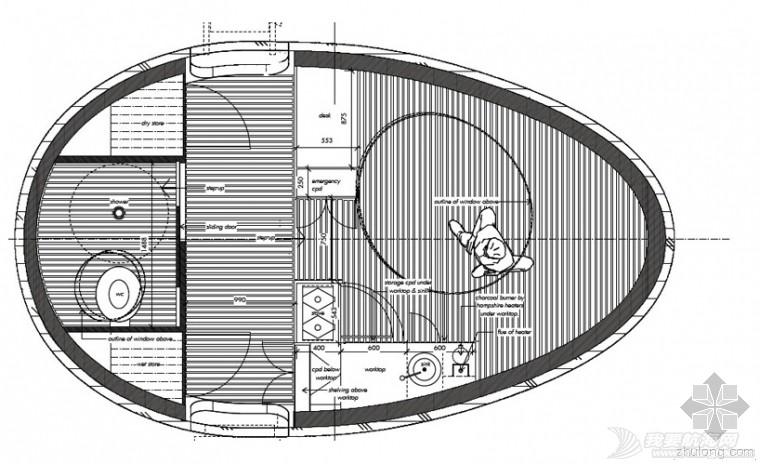 英国,建筑,笔记本电脑,设计原则,生活方式 英国蛋形建筑船【the exbury egg】 750879_11_0_0_760_w_0.jpg