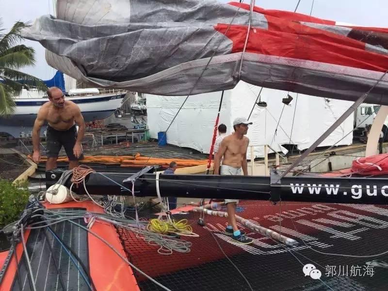 拆卸三体船帆桁 整理郭川船长个人物品 dff4a57f728f7c066c38a88a9490fdef.jpg