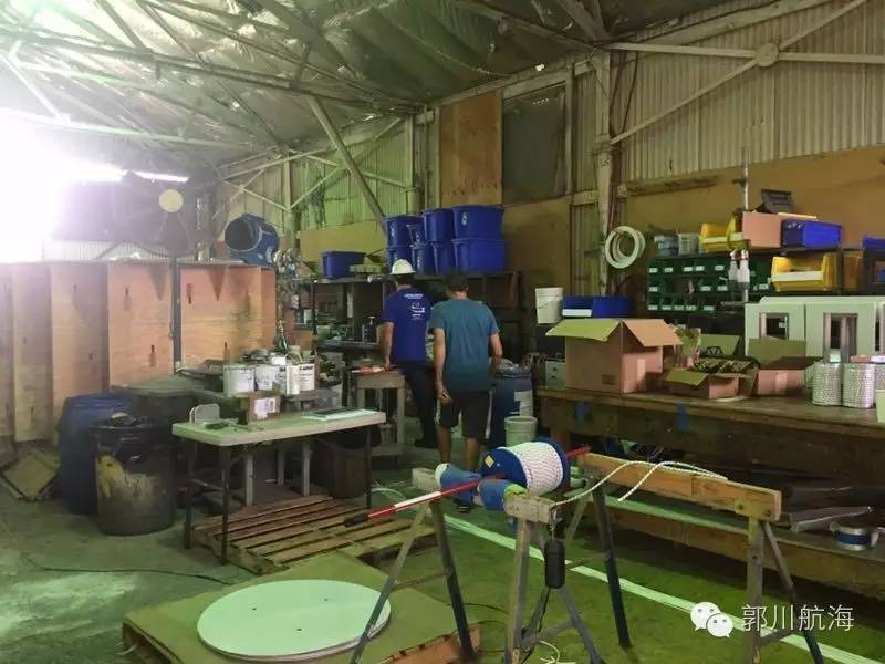 拆卸三体船帆桁 整理郭川船长个人物品 184152f6e136f5b7d8d8038025bbcc21.jpg