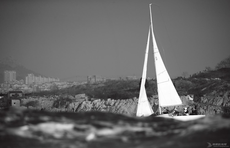 """图片,黄海,帆船,黑白 帆船的世界也可以是黑白的—2016首届""""黄海杯""""帆船赛图片精选 E78W3390鍓湰.jpg"""