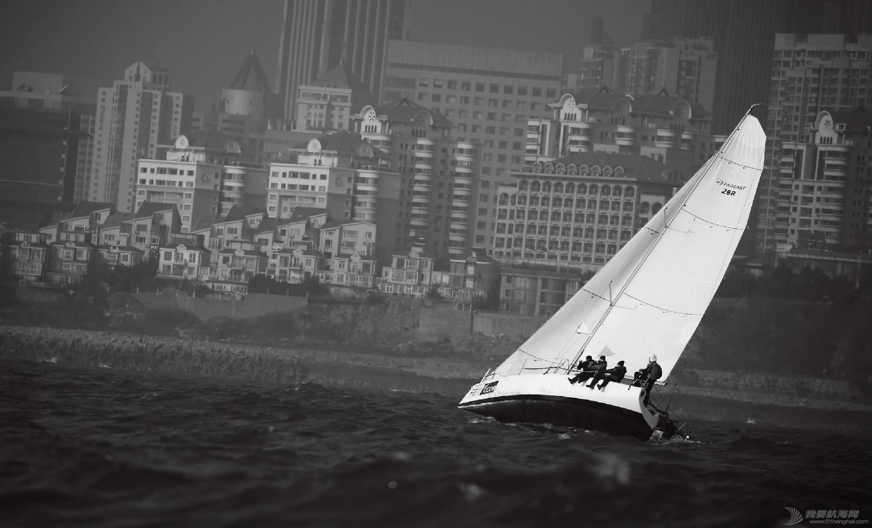 """图片,黄海,帆船,黑白 帆船的世界也可以是黑白的—2016首届""""黄海杯""""帆船赛图片精选 E78W3806鍓湰.jpg"""
