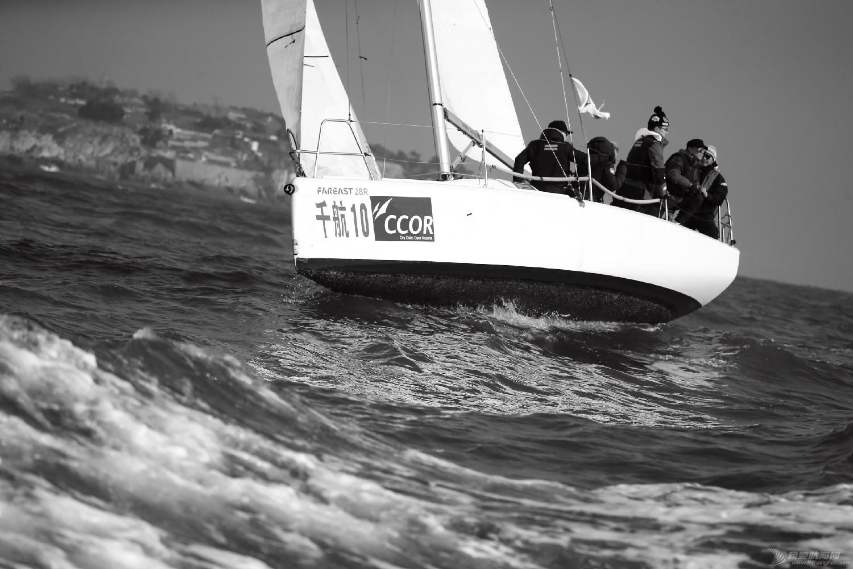 """图片,黄海,帆船,黑白 帆船的世界也可以是黑白的—2016首届""""黄海杯""""帆船赛图片精选 E78W3952鍓湰.jpg"""