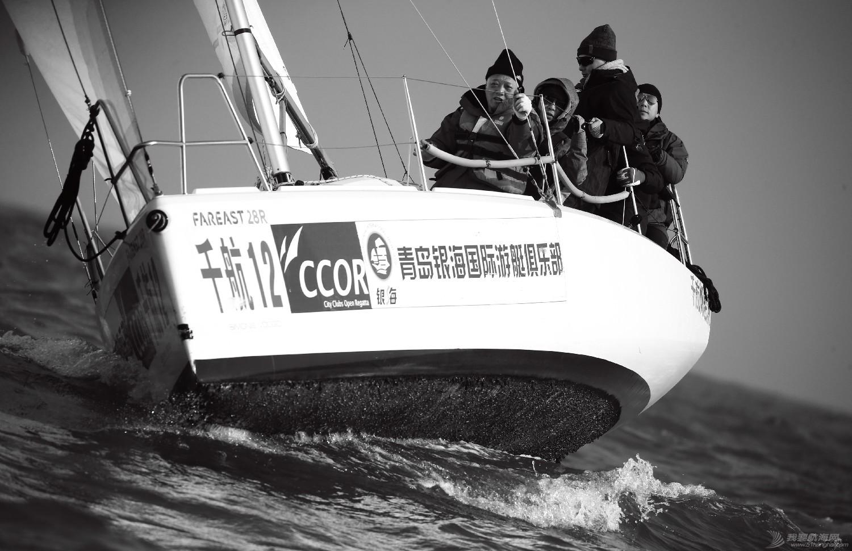 """图片,黄海,帆船,黑白 帆船的世界也可以是黑白的—2016首届""""黄海杯""""帆船赛图片精选 E78W4033鍓湰.jpg"""