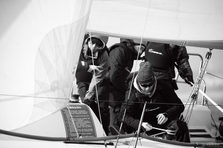 """图片,黄海,帆船,黑白 帆船的世界也可以是黑白的—2016首届""""黄海杯""""帆船赛图片精选 E78W4047鍓湰.jpg"""