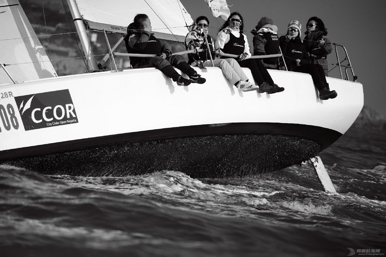 """图片,黄海,帆船,黑白 帆船的世界也可以是黑白的—2016首届""""黄海杯""""帆船赛图片精选 E78W4124鍓湰.jpg"""