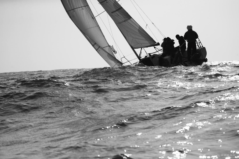 """图片,黄海,帆船,黑白 帆船的世界也可以是黑白的—2016首届""""黄海杯""""帆船赛图片精选 E78W4225鍓湰.jpg"""