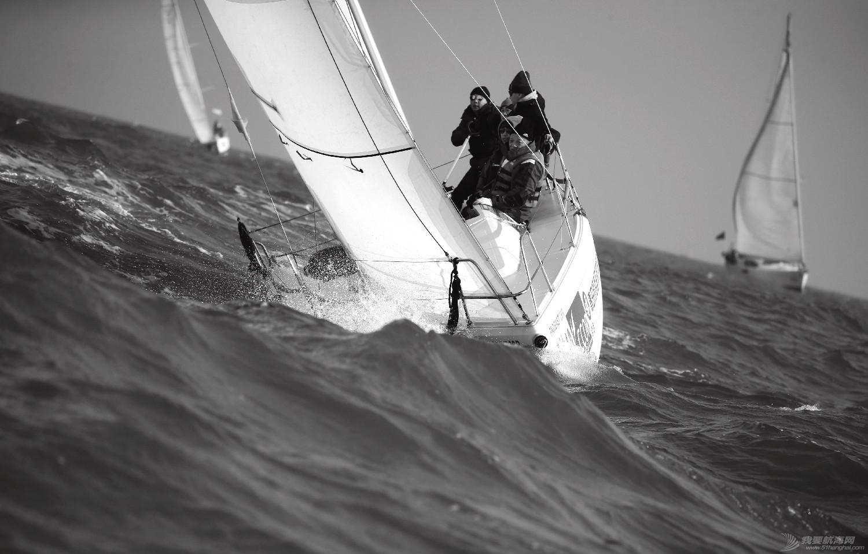 """图片,黄海,帆船,黑白 帆船的世界也可以是黑白的—2016首届""""黄海杯""""帆船赛图片精选 E78W4389鍓湰.jpg"""