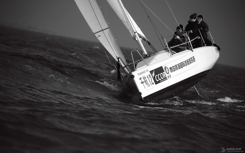 """图片,黄海,帆船,黑白 帆船的世界也可以是黑白的—2016首届""""黄海杯""""帆船赛图片精选 E78W4410鍓湰.jpg"""