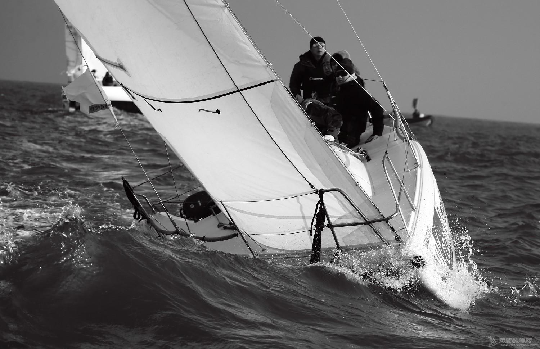 """图片,黄海,帆船,黑白 帆船的世界也可以是黑白的—2016首届""""黄海杯""""帆船赛图片精选 E78W5071"""