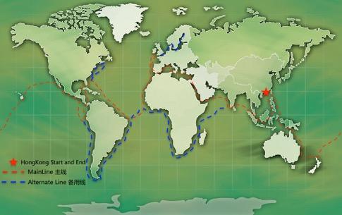 参加天天号帆船环球旅行,顺便考个国际帆船驾照