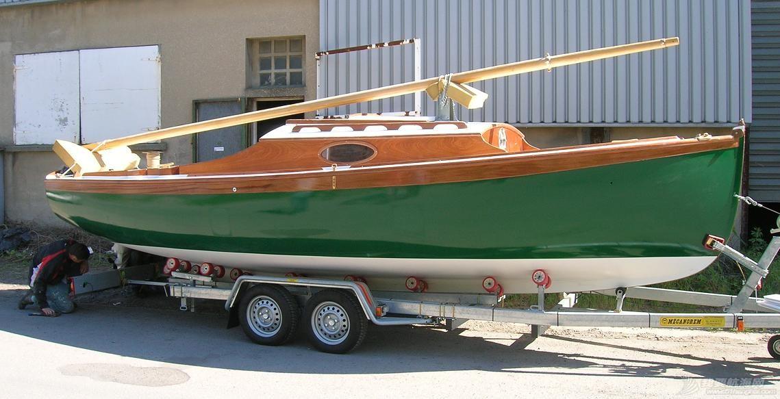 帆船,天津 【视频】TR68木质帆船在天津开工建造 bateaux-sur-la-remorque.jpg