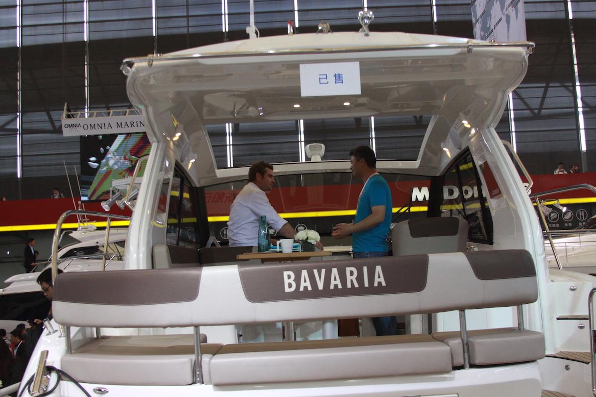 【2017 CIBS】巴伐利亚召开新船型发布会,现船SPORT 360HT当天售出!
