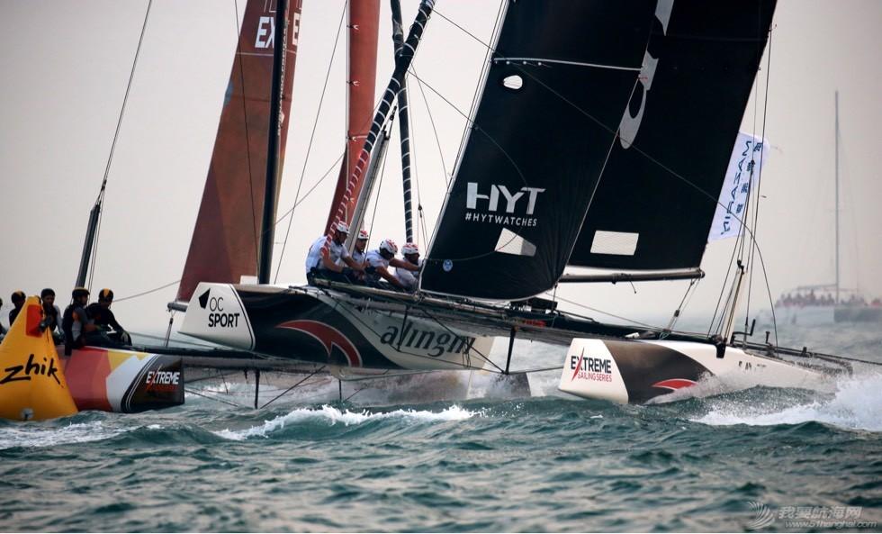 ESS Day3 | 青岛站终迎强风,路虎BAR帆船学院队异军突起打破格局