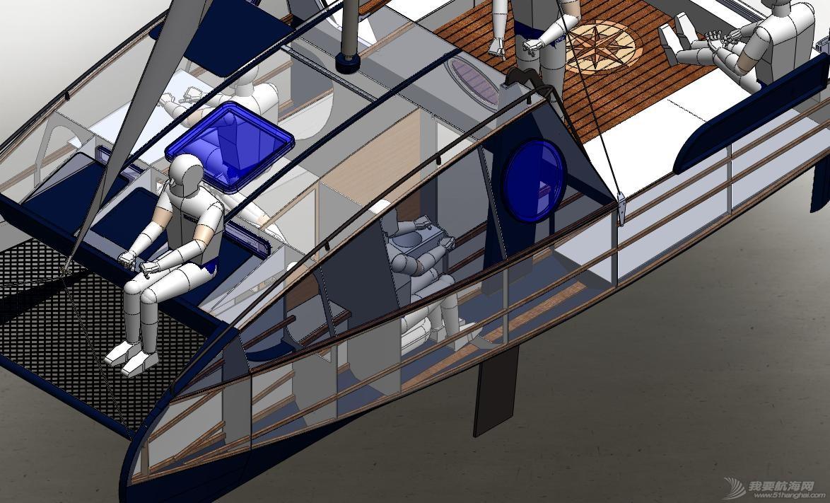 帆船,迷你 迷你有船舱的双体帆船 53a405b54cdfd.jpg
