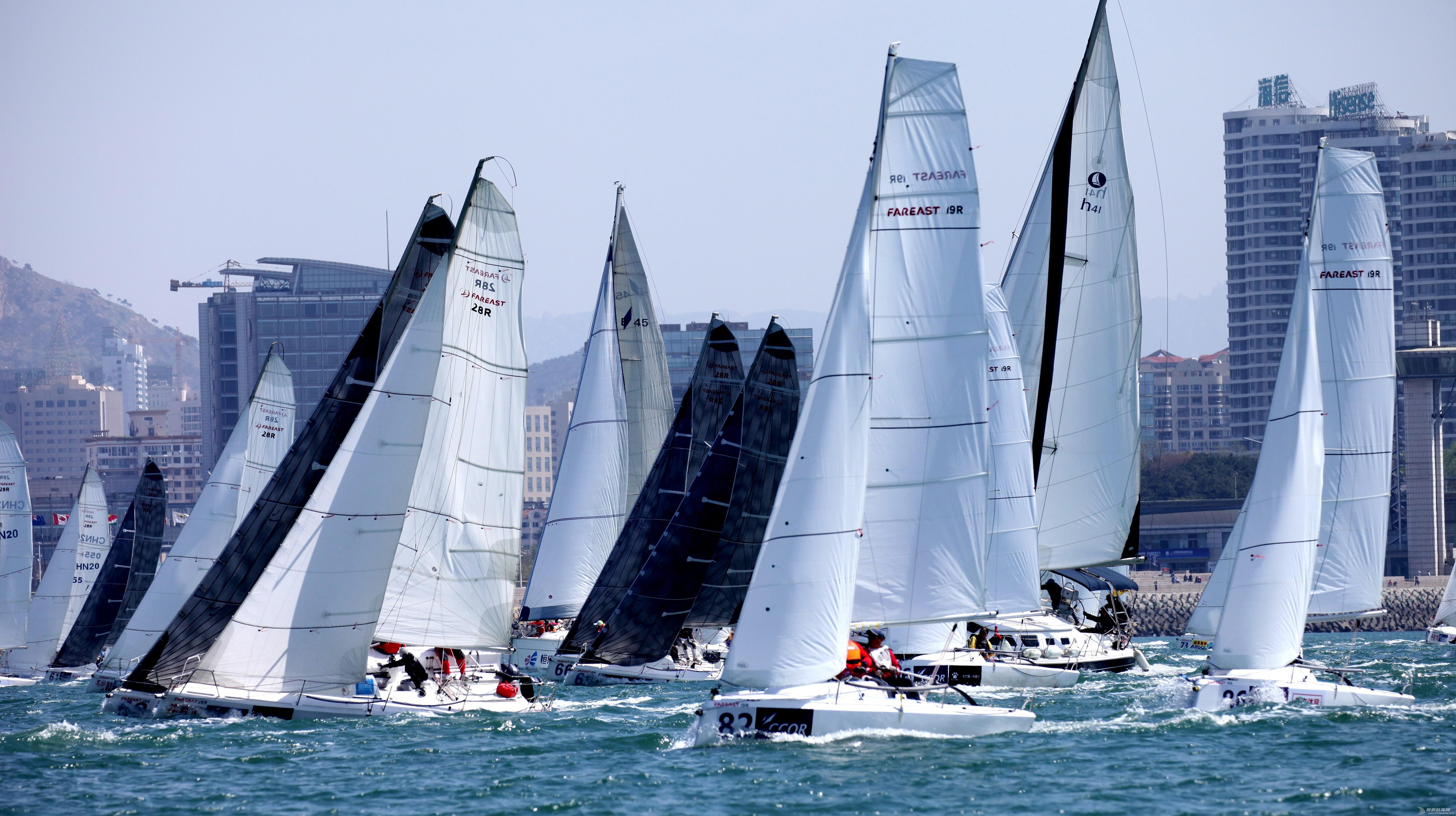 不为战胜,只为超越之2017年CCOR青岛城市俱乐部国际帆船赛