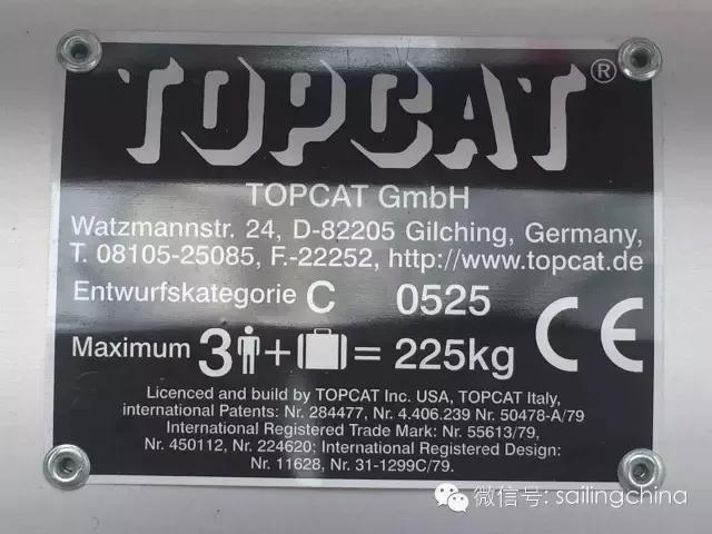 著名演员戚薇与来自德国的TOPCAT双体帆船