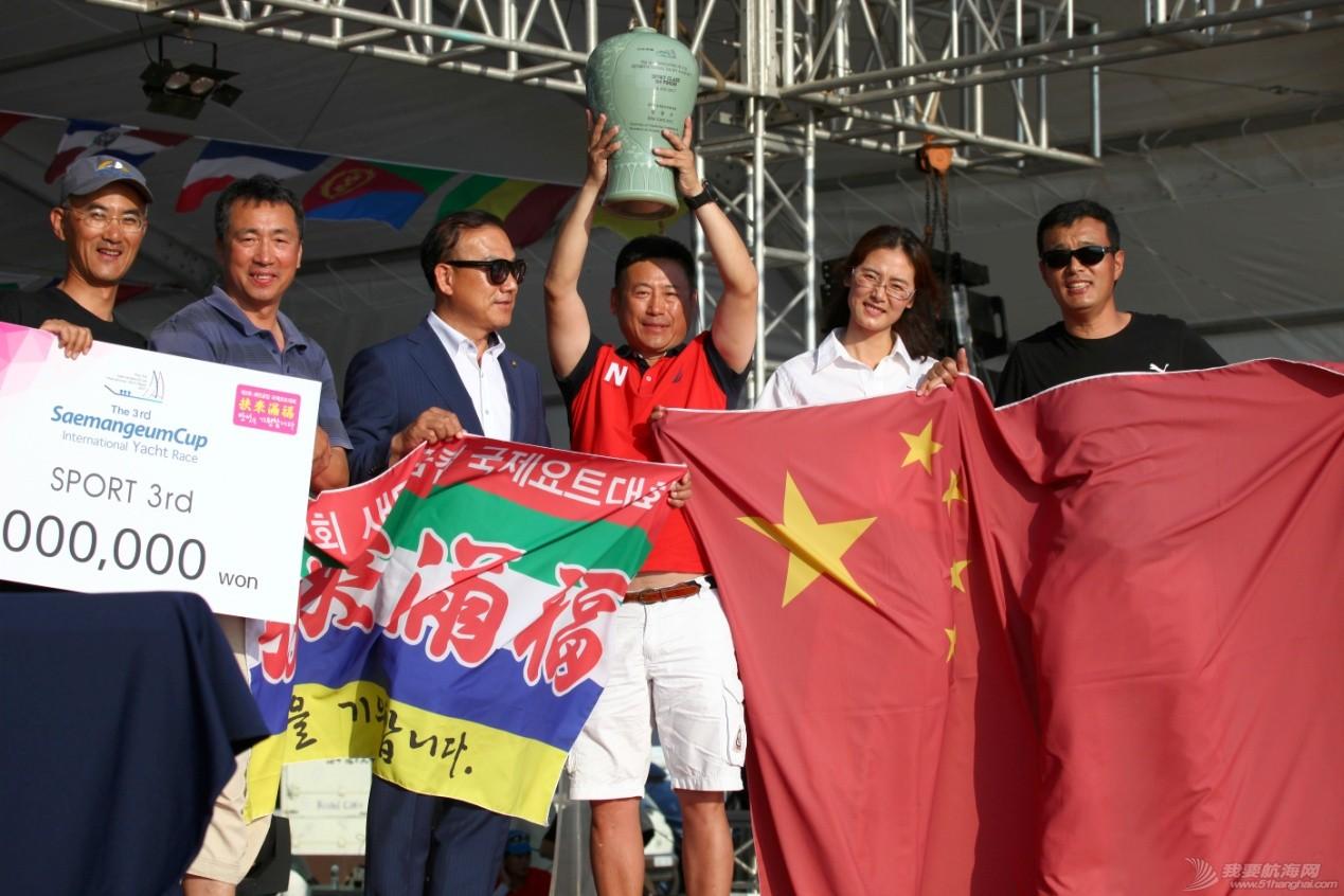 断桅旧船难挡实力发挥,青岛队勇夺新万金国际帆船赛季军
