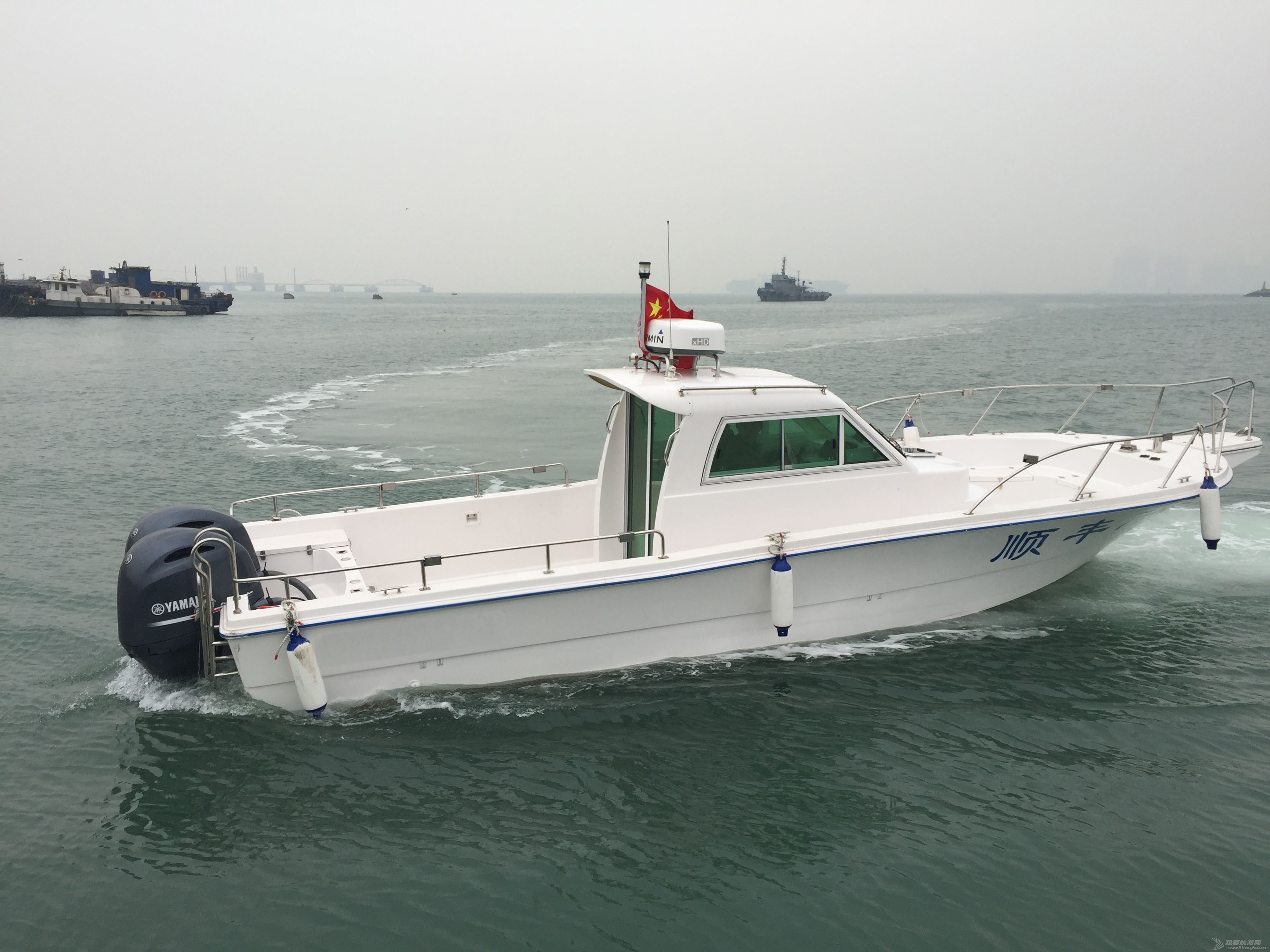 9.6米钓鱼艇 专为钓鱼而生