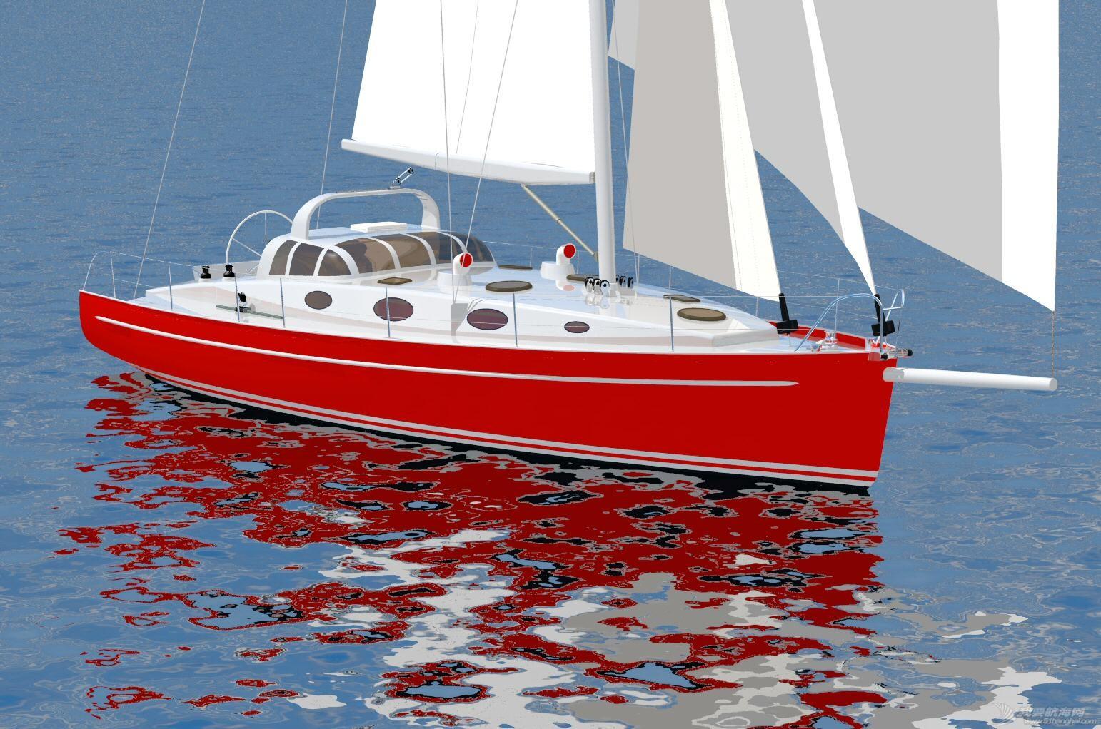 13米單體遠洋帆動力船