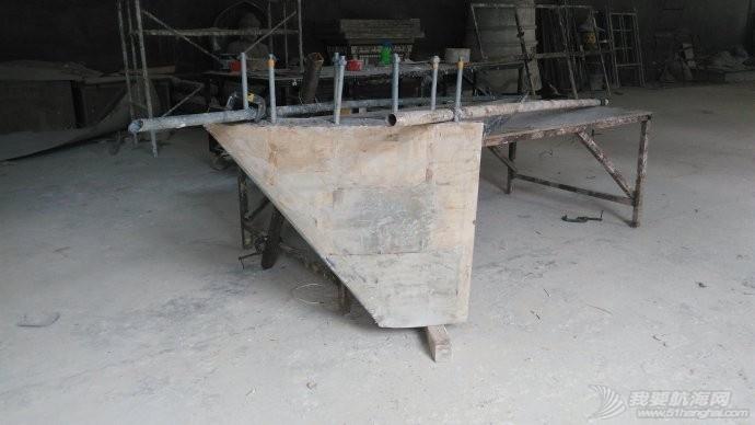 GR750船底龙骨(KEEL)的制作